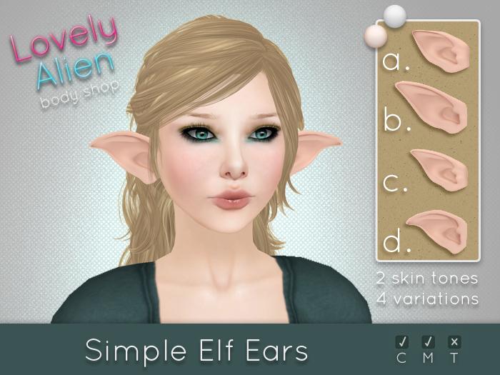 Simple Elf Ears