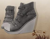 (TokiD) Gio high-top shoes (grey)