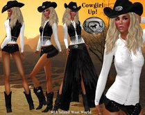 PROMO Cowgirl Up!   Outfit  with Boots and Hat Clothes as shown