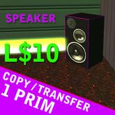 Purple speaker
