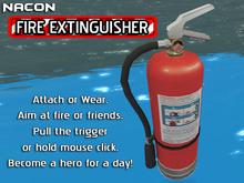 Nacon's Fire Extinguisher