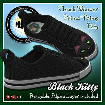 R(S)W Chucks Pets - Black Kitty Boxed