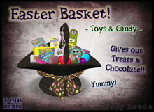 ~ Dirty Deeds~ Easter Basket - Toys & Candy