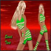 Men's & Women's Sexy Clothing & Accessories ~ Sweet Tart Green