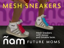 Mesh Boot Sneakers