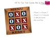 Full Perm MI Tic Tac Toe Game , Ready to Play With Two Player or Against Computer