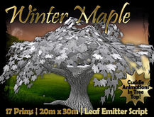 MG - Winter Maple Treehouse - Copiable