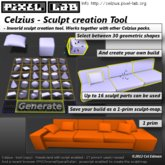 Celzius - Sculpt Creation Tool -  by Cel Edman