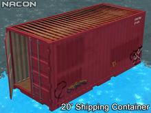 Nacon's 20' Shipping Container