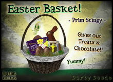 ~ Dirty Deeds~ Easter Basket - Prim Stingy