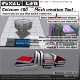 Celzium #00 (v.02) - Inworld Mesh Creation Tool - the 'cube' edition by Cel Edman