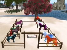:::IDJ::: Large Horse Corral with Stalls