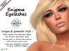 Gaeline Cosmetics - Enigma Mesh Eyelashes : just sublimate your eyes !