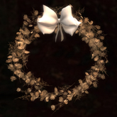 Dried Saxifrage Wreath