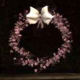 Dusty Rose Saxifrage Wreath (75% OFF SALE! WAS $125 -> NOW ONLY $30!)
