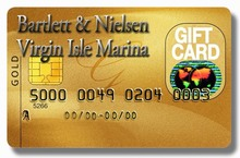 GIFT CARD - 500L from Bartlett & Nielsen and Virgin Isle Marina (gift certificate)