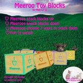 Meeroo Toy Blocks set