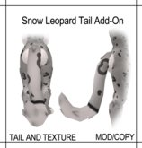 [CAEK!] BG Snow Leopard Tail Add on