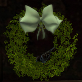 Sparrow in a Spring Tendrils Wreath (WAS $145 -> NOW ONLY $35!)