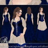 Ruth - Gown - Sapphire