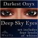 Mayfly - Deep Sky Eyes (Darkest Onyx)