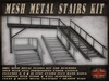 Metal Stairs Builders Kit
