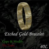 Gold Bracelet (Boxed)