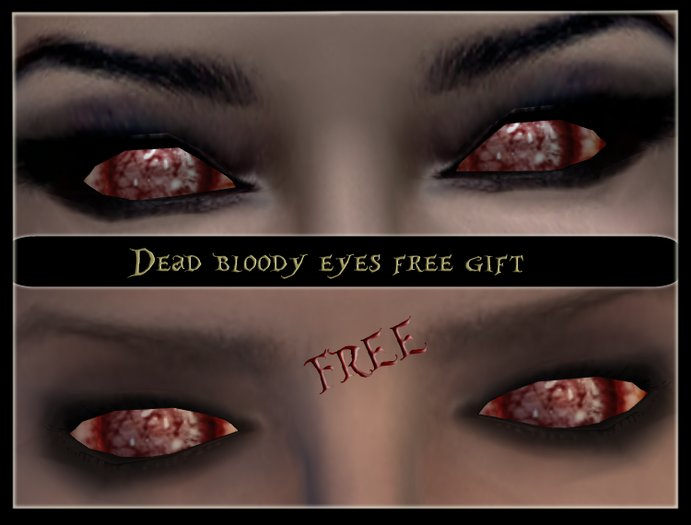 *Sicknessthesia* dead bloody eyes FREE gift