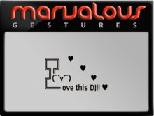 GESTURE - LOVE THIS DJ