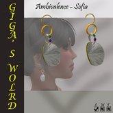 Ambivalence earrings - Sofia