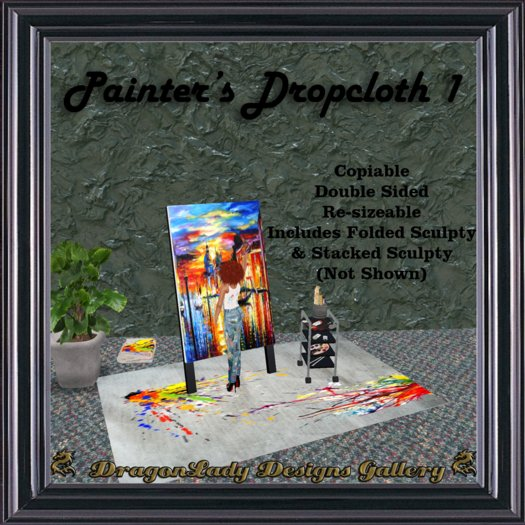 Painter's Dropcloth 1
