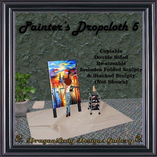 Painter's Dropcloth 5
