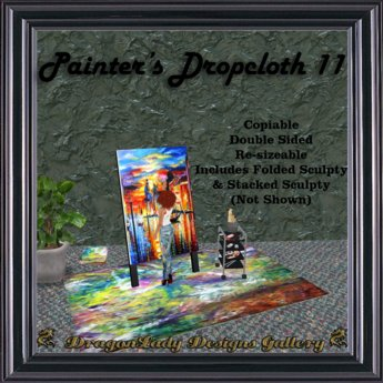 Painter's Dropcloth 11