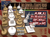 [FFBox] 20x Tower & Temple Roof Shapes-01 {MESH+Sculpt+Maps+Shadow, CMT} for Builders