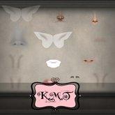 .:::K,M,T:::.Skin Creators Nose Crease & Wrinkles Set Of 83