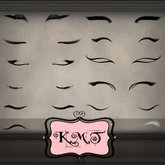 .:::K,M,T:::.Skin Makeup Creators Eyeliners Set Of 69