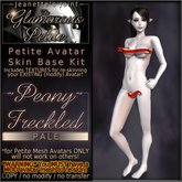 ~JJ~ The Glamorous Petite ~Peony~ (pale) Freckled