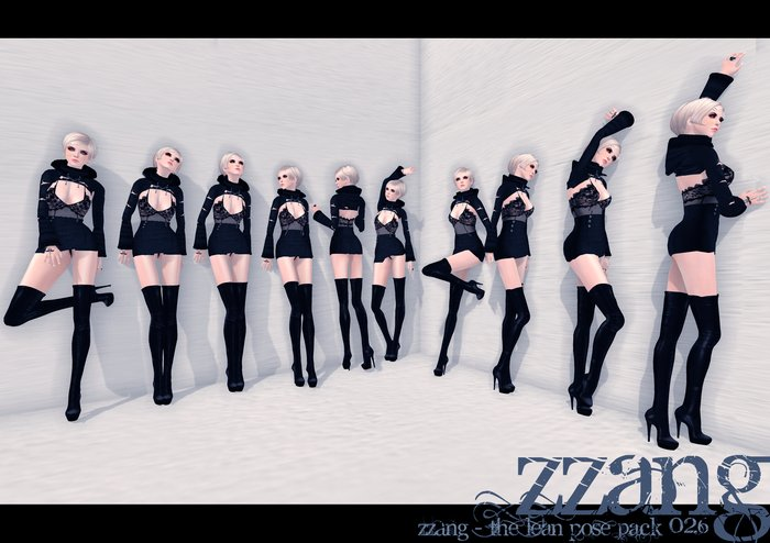 ZZANG - The Lean Pose Pack 026