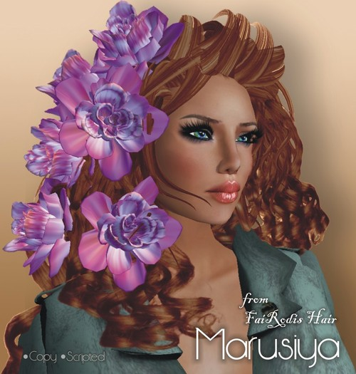 FaiRodis Marusiya hair red cat brown DEMO