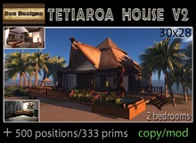 PROMO 1550 OFF! Tetiaroa House V2-box
