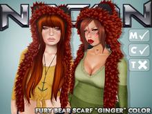 Nacon's Fury Bear Scarf [Ginger] (1.2)
