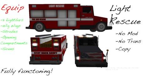 Equip Light Rescue