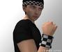 Cobrahive - Headband & Sweatbands [checkers]