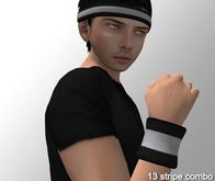 Cobrahive - Headband & Sweatbands [stripe]