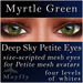 Mayfly - Deep Sky Petite Eyes (Myrtle Green)