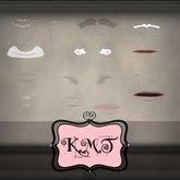 .:::K,M,T:::.Skin Creators Lips Dimples Shades Set Of 92