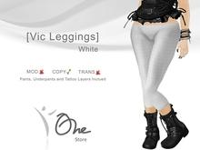 :: One Store :: [Vic Leggings] White BOX