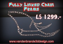 fully linked chain frame FULL PERM FOR BUILDERS Only on marketplace!
