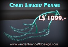 Price LOWERED! chain linked frame FULL PERM FOR BUILDERS