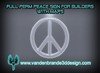 FREEBIE! FULL PERM Peace sign For Creators WITH Sculpt Maps! only on marketplace!